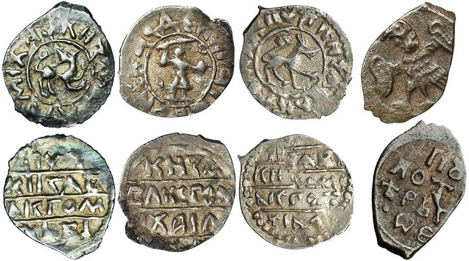 Чеканка денег в Древней Руси и в средние века